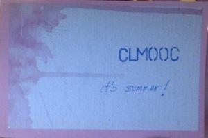 CLMOOC postcard from Karen